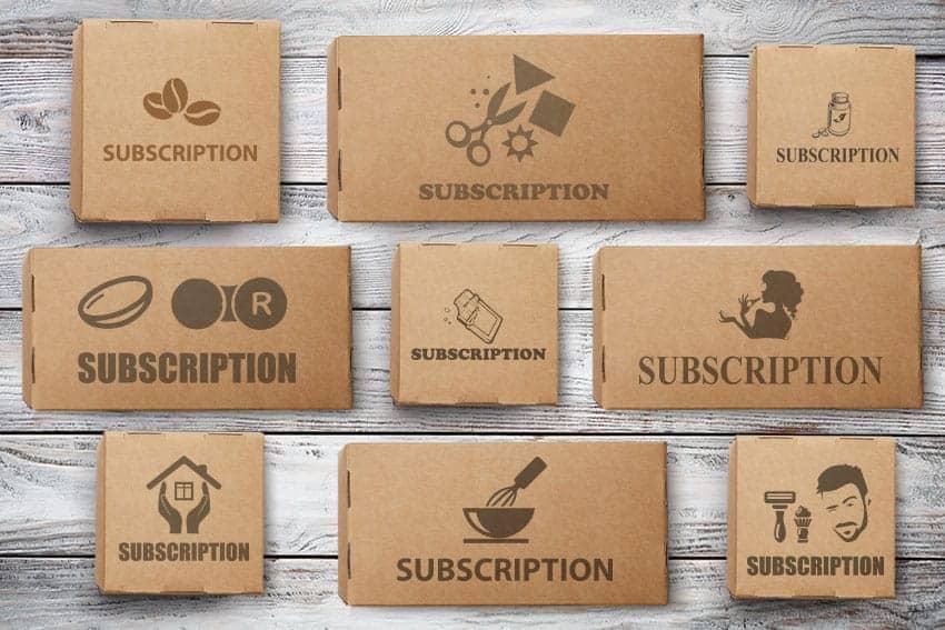 Subscription box fulfilment